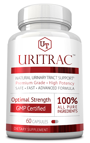 Uritrac ingredients bottle